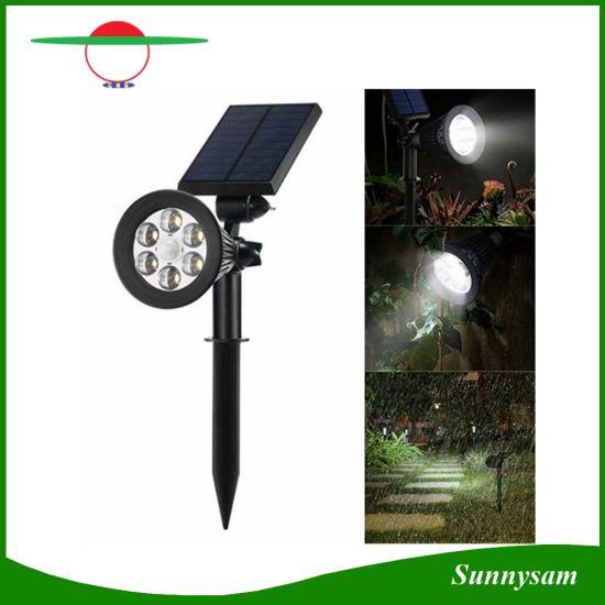solar powered spotlight outdoor