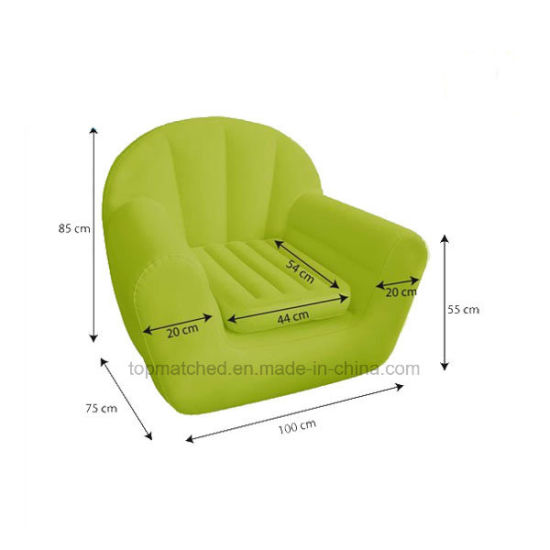 inflatable chair stool camping rocking china modern flocking lounger sofa