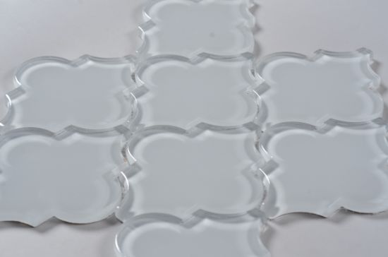 china 120x100 types clear glass mosaic