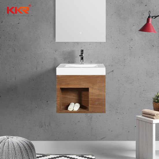 quality nature marble art stone sink for bathroom and washroom vanity wall mounted sink
