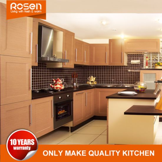 China Kitchen Cabinets Furniture With PVC Finished Maple Online For