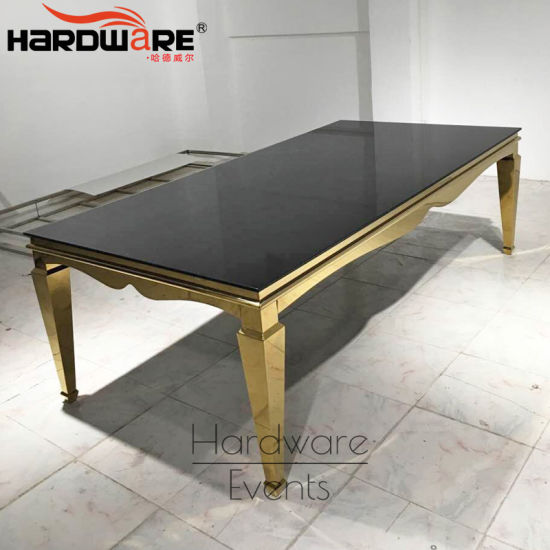tempered glass top modern design stainless steel new center table