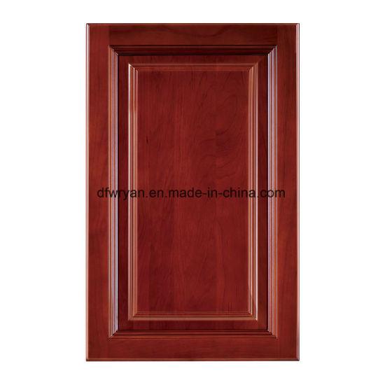 mdf kitchen cabinet doors extractor hood china furniture 18mm pvc vacuum door cupboard
