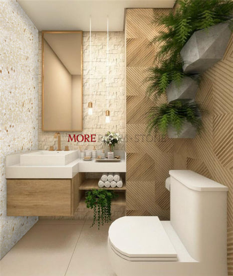china bathroom wall design faux stone