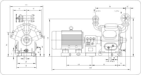 China Ammonia Refrigeration Reciprocating Piston