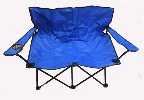 double seat folding chair best infant beach china two persons for fishing etgv 01