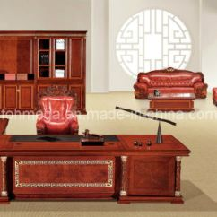 Throne Office Chair Asian Inspired Chairs China Luxury Presidential Table King Royal Furniture Foht 01