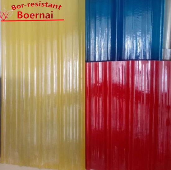 bor roofing china colorful corrugated fiberglass frp sheets
