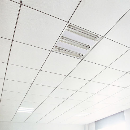 antibacterial aluminum lay in ceiling tile for hospitals