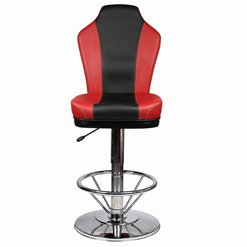 round base chair ivory leather dining chairs china new height adjustable casino gamble with fs g8019h