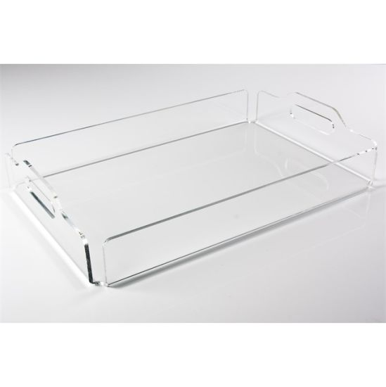 China Wholesale Clear Acrylic Serving Trays with Handles - China Acrylic Serving Tray. Acrylic Display Trays