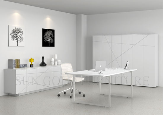 minimalism modern white office