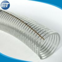 China PVC Reinforced Flexible Hose with Stainless Steel ...