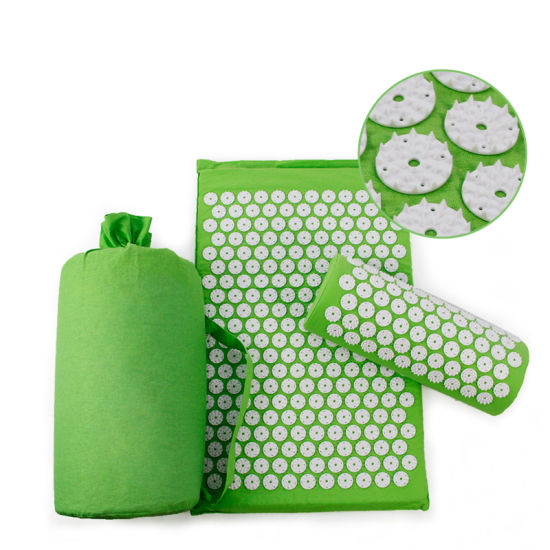 china acupressure mat and pillow set