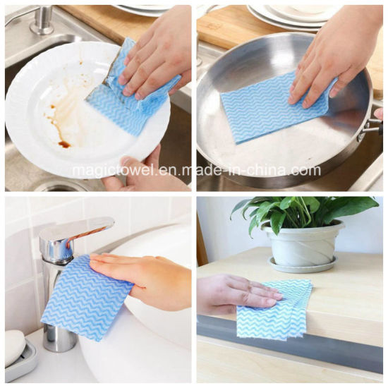 kitchen dish towels wolf appliances china spunlace nonwoven disposable cleaning towel