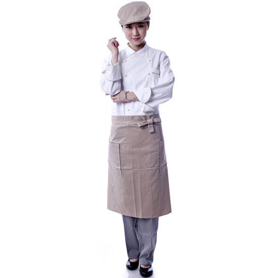 kitchen wear cabinet door hardware china oem chef uniforms jacket designer