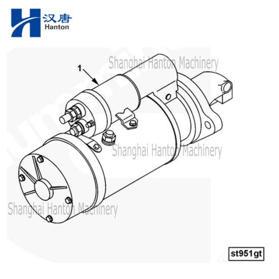 China Cummins auto diesel engine motor 6CT parts 5346195