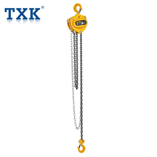 China High Frequency Industrial Txk 1 Ton 3m Manual Chain