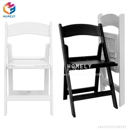 resin folding chairs for sale lumbar support china sell black white outdoor garden chair