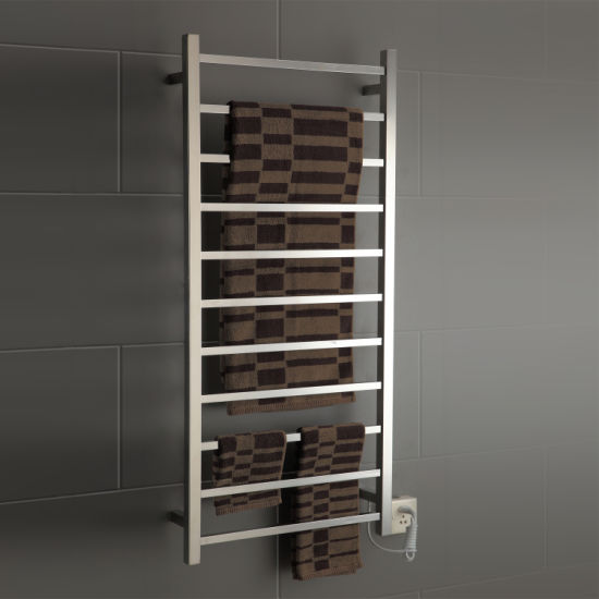 wall mounted ladder traditional heated