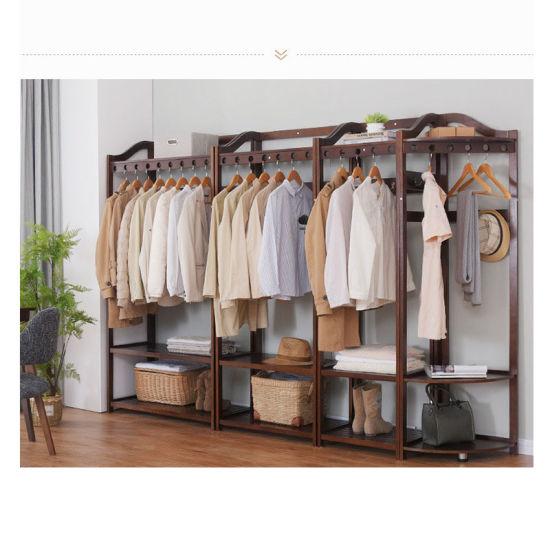 floor coat rack combination hanger bedroom hanger