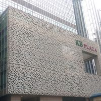 China Perforated Aluminum Panel with PVDF Coating for ...
