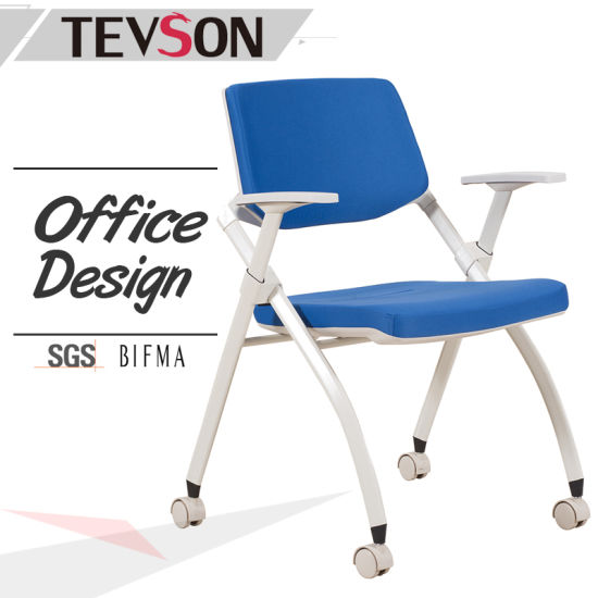 folding executive chair civil war camp china modern office meeting visitor fabric and plastic training