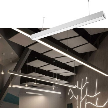 indoor commercial industrial lighting linear 3ft 4ft 8ft 30w 60w led shop light 4 feet led fixture