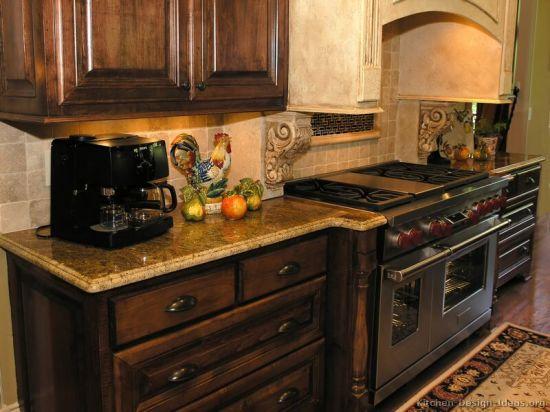 walnut kitchen cabinets moen banbury faucet china dark dw33 cabinet pictures photos