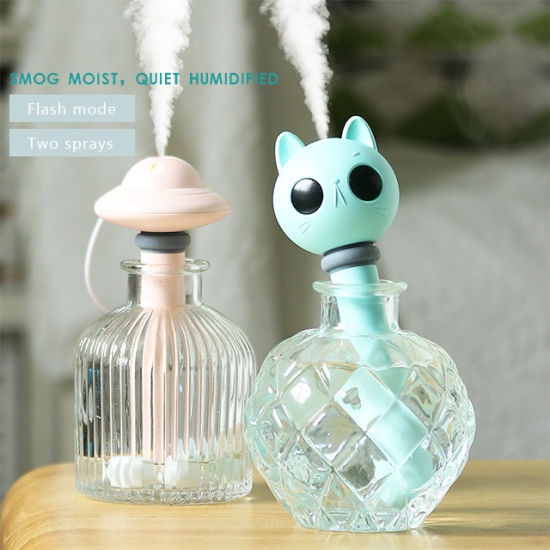 Small Portable Usb Cool Mist Humidifier Mini Air Humidifiers For Home Bedroom China Humidifiers And Air Humidifier Price Made In China Com