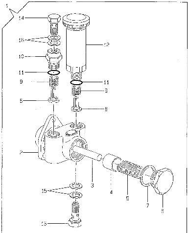 China Yanmar Fuel Pump 129900-52010 123901-52010 for