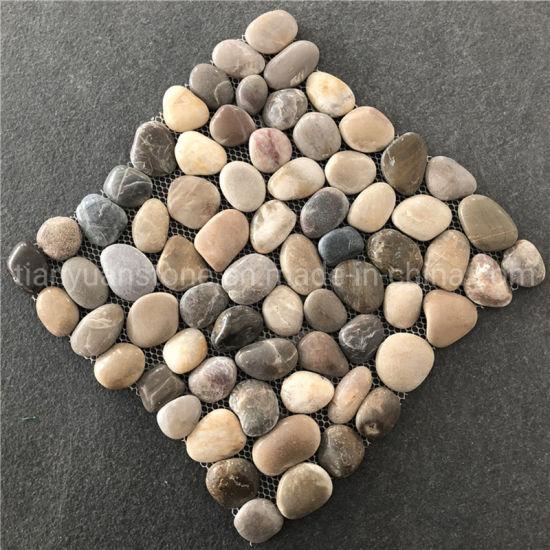 china mosaic pebble mosaic tile