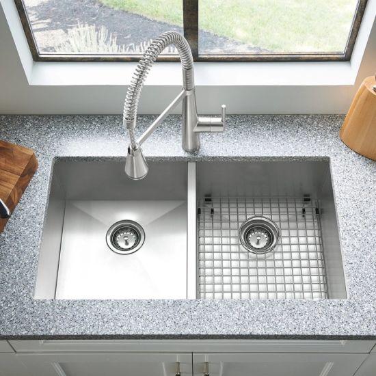 china steel handmade sink undermount sink