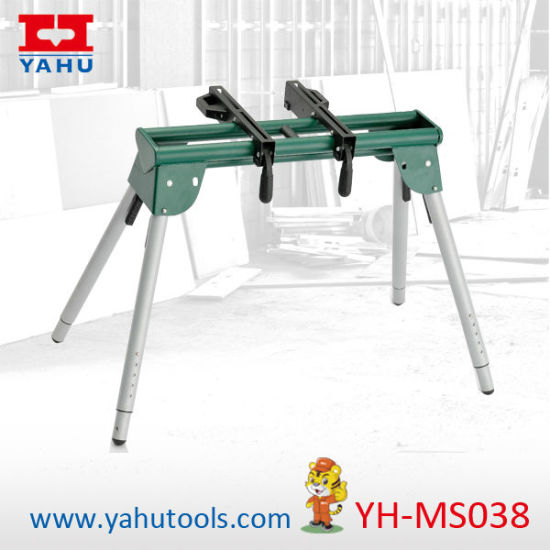 Adjustable Height Table Saw Stand