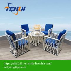 All Weather Garden Chair Topcon And Stand China Hotel Home Patio New Design Glass Dining Table Chairs Outdoor Furniture