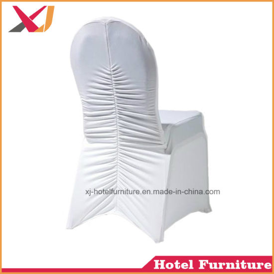 universal banquet chair covers folding decorative china white cheap spandex stretch elastic cover for hotel wedding party