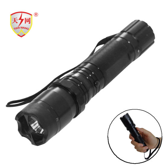 China Strong Light Electric Shocker Self Defense Stun Guns - China Taser. Flashlight Electric Shock