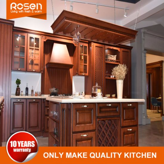 solid wood kitchen sets moen hands free faucet china wholesale classical style oak cabinets furniture