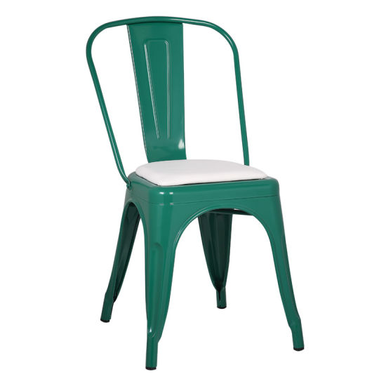 retro cafe dining chairs cheap upholstered china wholesale steel industrial metal chair zs t01 pictures photos