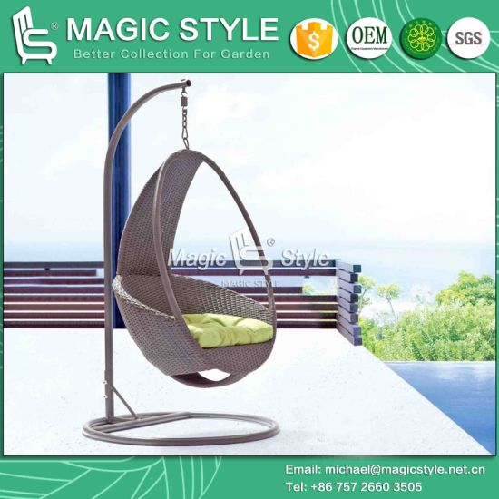 outdoor wicker hammock chair electric reclining chairs for elderly china balcony swing rattan magic style pictures photos