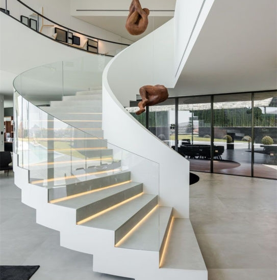 China Commercial Wood Stairs Lowes Non Slip Stair Treads Spiral | Wood Stair Treads Lowes | Outdoor Stair | Deck | Stair Stringer | Handrail | Flooring