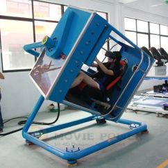 Flight Simulator Chair Motion Folding For Sale China Earn Money 9d Vr Game Machine Flying Racing