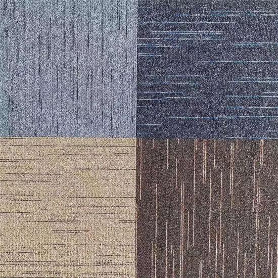 carpet tile adhesive carpet tiles 50x50 cm floor carpet squares for interior