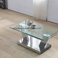 Glass Table Sets For Living Room Pop Ceiling Design In India China Coffee Set Center Furniture