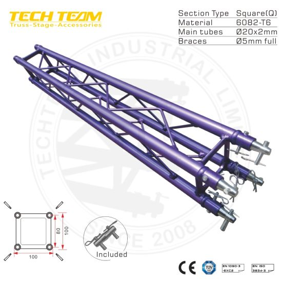 concert small stage lighting truss for
