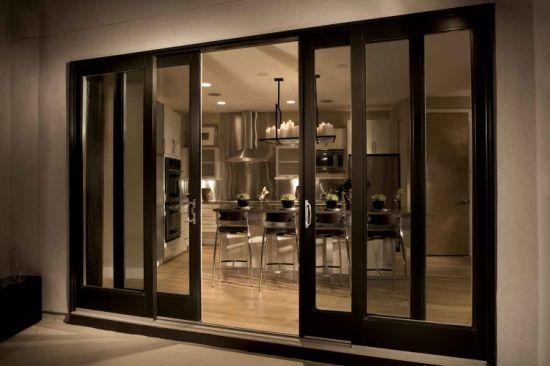 good quality aluminium sliding patio doors with double or single glasses