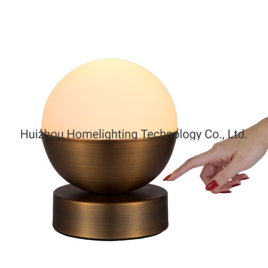 China Jlt T007 Aged Brass Finish Touch Table Lamps Bedside Lamps For Bedrooms Dimmable China Table Lamp Touch Table Lamp