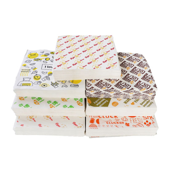 If your food is greasy, a greaseproof paper pad is necessary. Custom Hamburger Packaging Tissue Paper Printing Wrapping Grease Proof Paper Sandwich Greaseproof Shawarma Food Grade Wax Paper China Hamburger Packaging Tissue Paper Grease Proof Paper Made In China Com