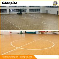 China Waterproof PVC Gym Flooring for Indoor Sports Used ...