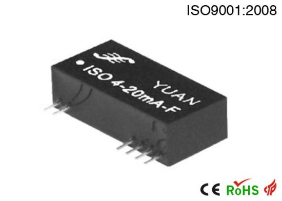 Converter Output Interface Circuit Composed Of Ua741 Amplifier